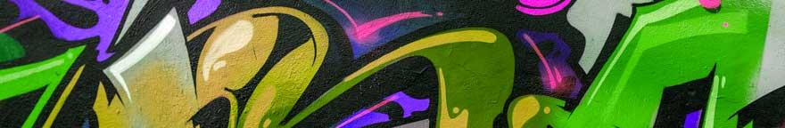 Graffiti Spray Paint Mural