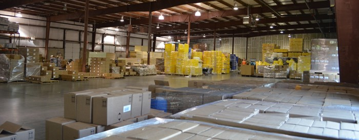 Our warehouse in Freehold, NJ