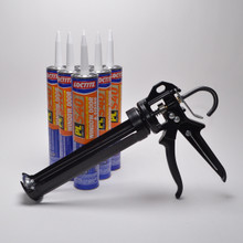 Contents: Pro Caulk Gun, 6 Cartridges PL S40 Sealant