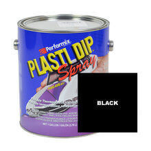 Black, Ready to Spray Plasti Dip, 1 Gallon Can