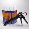 Contents: Pro Caulk Gun, 12 Cartridges PL S40 Sealant