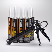 Contents: Pro Caulk Gun, 12 Cartridges OSI Quad Sealant
