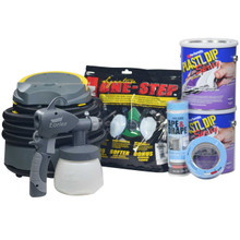 Contents: 2 Gallons Plasti Dip Spray, Earlex Spray Station 3500, Respirator, Tape & Drape and Masking Tape
