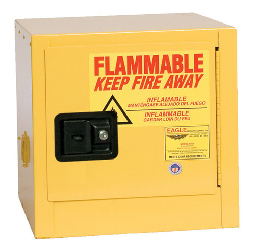 2 Gallon Flammable Liquid Safety Cabinet Manual Close