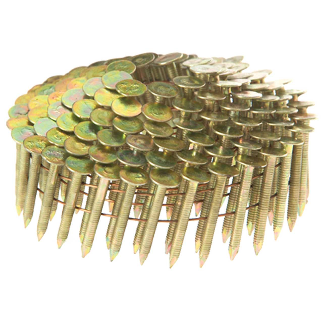 Wire Coil Roofing Nails Stainless Steel Ring Shank