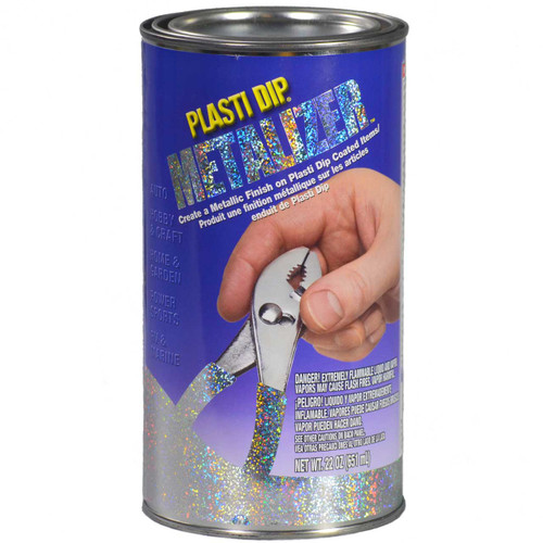 Plasti Dip Metalizer Rubber Coating 22oz Can Silver Or