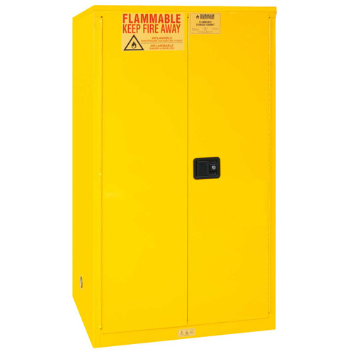 Durham 1060M-50 Cabinet: 60 gallon capacity, manual close doors