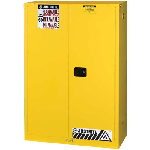 45 Gallon Flammable Storage Cabinet Self Close Justrite
