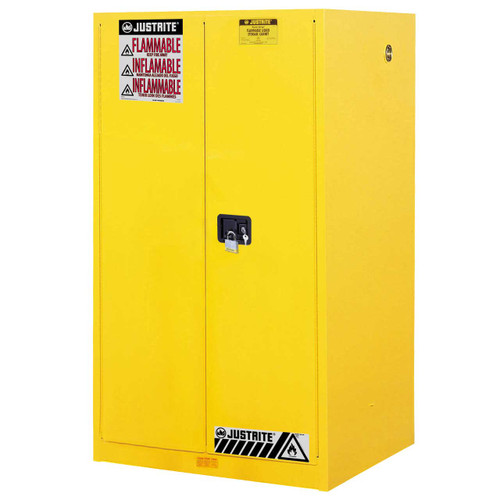 60 Gallon Capacity, Self Close Doors