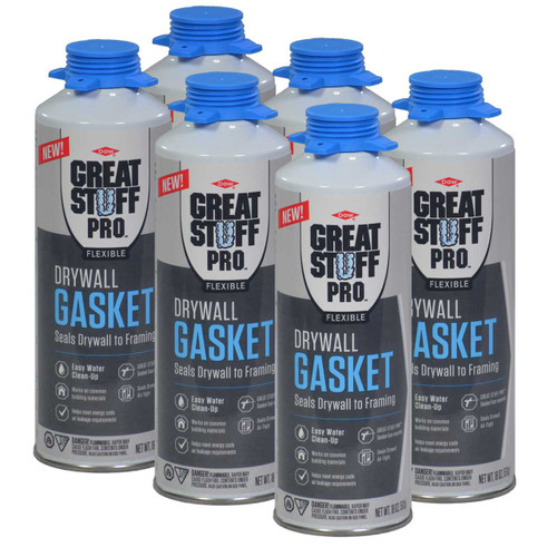 1/2 case of Drywall Gasket (6 cans)