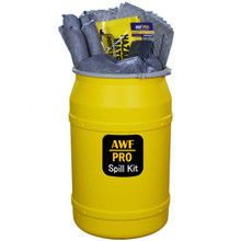 Our 55 Gallon Spill Kit contains Pads, Socks and Pillows to handle spills, leaks and discharges