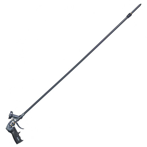 40 inch (100 cm) barrel allows extended reach