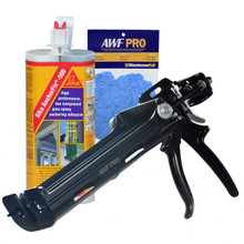 Our Kit comes with our AWF Pro Epoxy Gun and 1 Tube of Sika Anchorfix