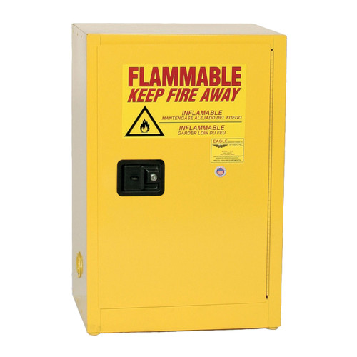 12 Gallon Flammable Liquid Safety Cabinet Manual Close