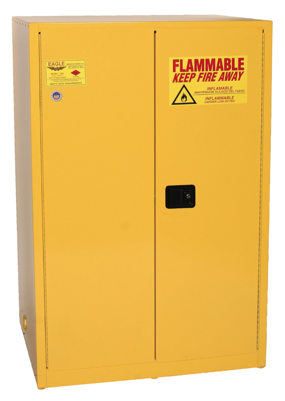 90 Gallon Flammable Liquid Storage Cabinet
