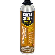 Dow Great Stuff Pro, Wall & Floor, 26.5oz Pro Can