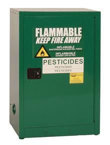 12 Gallon Pesticide Safety Cabinet, Self Close Doors, Eagle PEST24