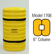 "Eagle 1706 Column Protector, 24"" wide, 42"" tall, fits 6"" column"