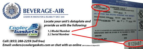banner bev air?t=1487284869 beverage air gaskets refrigeration gaskets made easy beverage air mt45 wiring diagram at gsmx.co