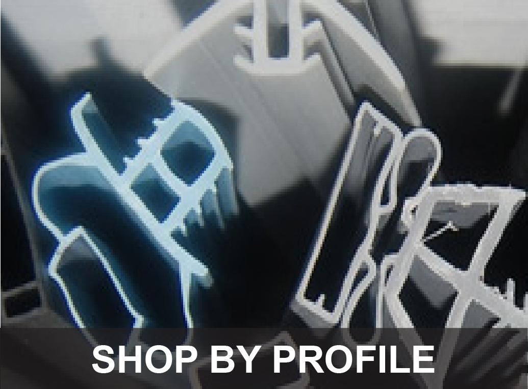 Order cooler door gaskets by gasket profile