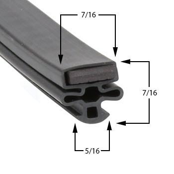 Masterbilt-Gasket-30-x-63-37-022-1 fits BEL330, BLG27, BLG27HD, BMG27, CEL330, CEL4, CEL430, CEL530, CEL624