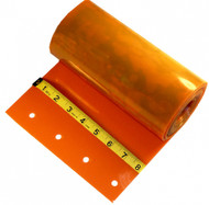 "SAFETY ORANGE - Single Replacement Strip - 8"" x 120"""