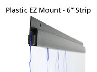 "EZ Mount Cooler Strip Curtain Kit - 40"" x 84"" (CG.0003) - 1"