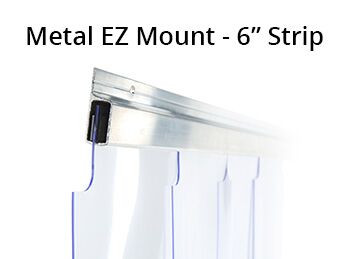 Build Your Own 6 Quot Strip Curtain Kit Refrigeration