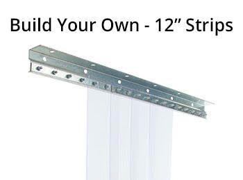 "Build Your Own 12"" Strip Curtain Kit (CG.12SCK)"
