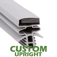 Profile 893 - Custom Hot-Side Upright Door Gasket