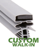 Profile 893 - Custom Hot-Side Walk-in Door Gasket