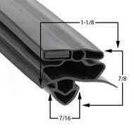True-Mfg-928834-Gasket-29-3/4-x-54-1/4-928834-GDM26-GDM-26-1