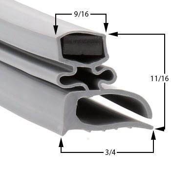 Randell-Gasket-10-3/4-x-24-1/4-INGSK105-9030K-7-9040K-7-9045K-7-9050K-7-9215-32-7F-53-045-53354PRM-94017M-9404AM-1