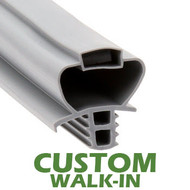 Profile 890 - Custom Walk-in Door Gasket
