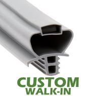 Profile 890 - Custom Walk-in Door Gasket