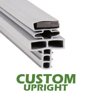 Profile 715 - Custom Upright Door Gasket