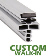 Profile 715 - Custom Walk-in Door Gasket