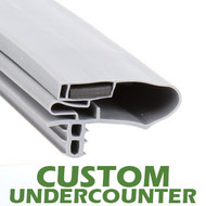 Profile 783 - Custom Undercounter Door Gasket
