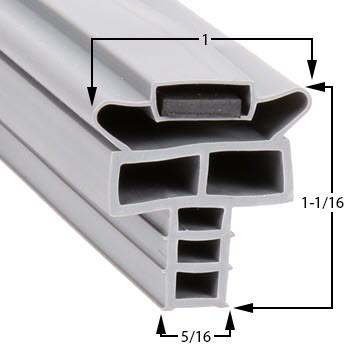 Randell-Gasket-10-3/8-x-21-7/8-INGSK1040-53-304-52387PRM-53372AM-8262M-1