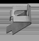 Kason Pilaster Clip - 0068  Stainless