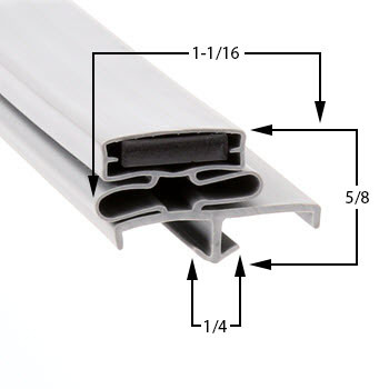 Traulsen-Gasket-19-1/2-x-29-1/2-60-227-1