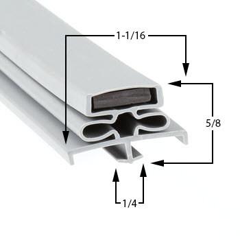 Traulsen-Gasket-11-1/2-x-23-1/2-60-407-341-39392-00-RFC232W-1