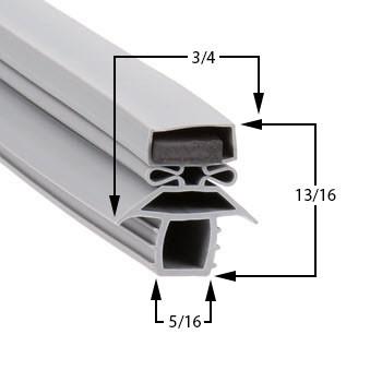 Traulsen-Gasket-8-1/2-x-23-5/8-60-369-341-36850-00-URDT224DUT-UR48DT-URS48-URS48DT-1