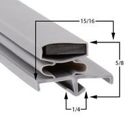 Traulsen-Gasket-22-5/8-x-59-3/4-60-702-341-60083-00-1