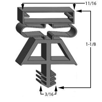 Kolpak-Gasket-38-1/2-x-84-1/4-535321075-2