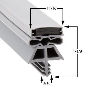Kolpak-Gasket-36-1/4-x-77-63-111-1