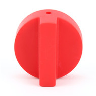Generic - Knob, Red - Equivalent to Vulcan Hart 420560-1