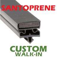 Profile 550 - Custom Hot-Side Walk-in Door Gasket