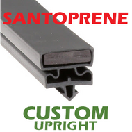 Profile 550 - Custom Hot-Side Upright Door Gasket