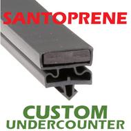 Profile 550 - Custom Hot-Side Undercounter Door Gasket